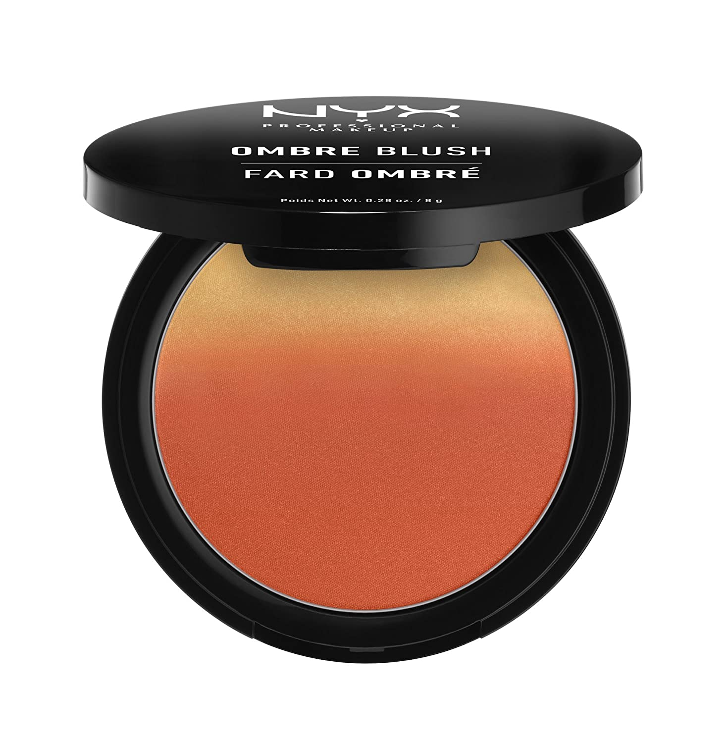 NYX Professional Makeup Ombre Blush, Feel the Heat, 0.28 Ounce OB01