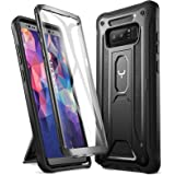 YOUMAKER Kickstand Case for Galaxy Note 8, Full Body with Built-in Screen Protector Heavy Duty Protection Shockproof Rugged C