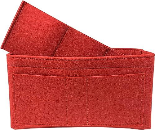 VRvibrant Organizador de bolso, inserto organizador de bolsa de fieltro para Louis Vuitton Speedy 35, Neverfull MM, Longchamp: Amazon.es: Zapatos y complementos