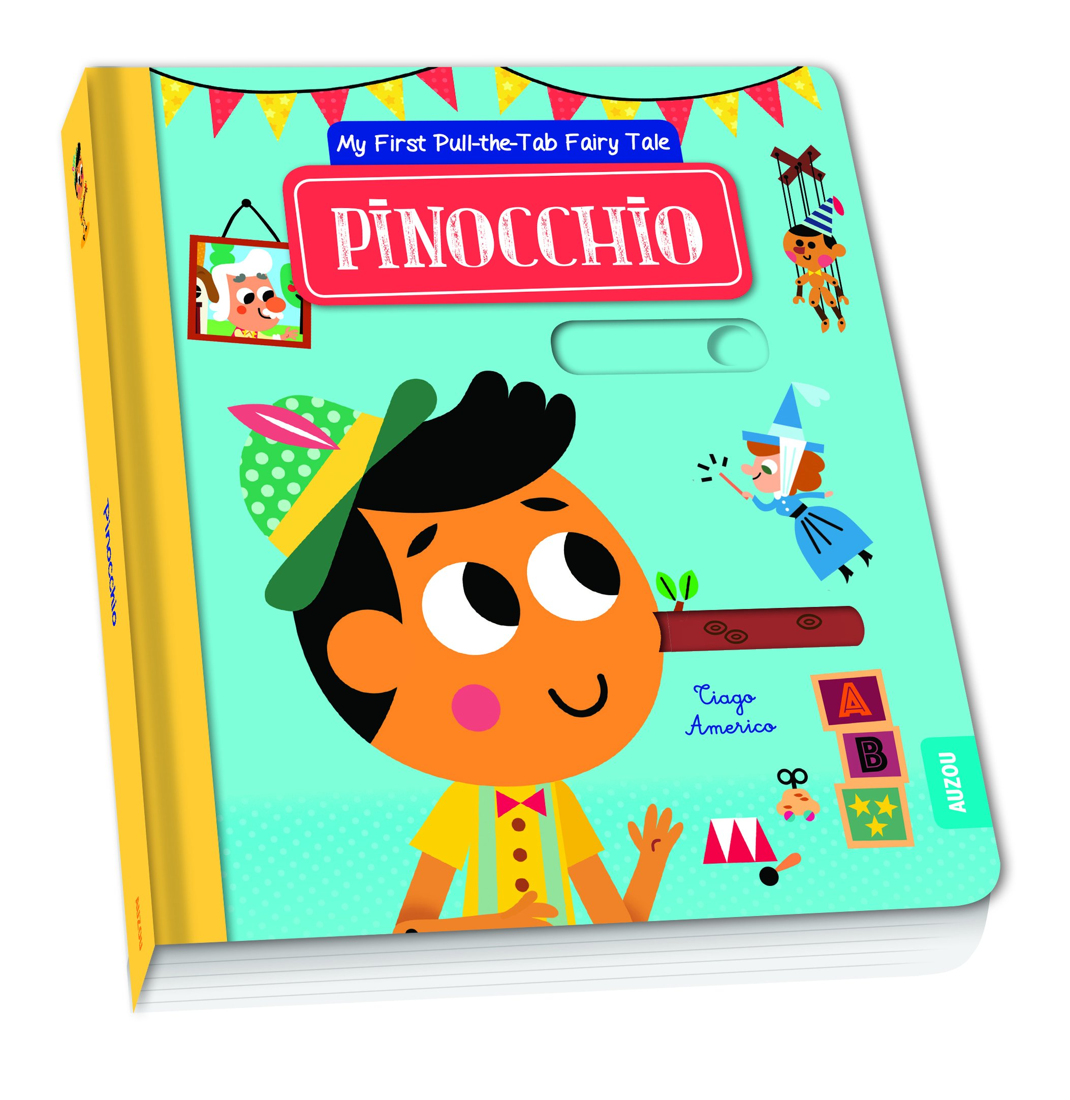 Pinocchio (My First Pull-the-Tab Fairy Tale)