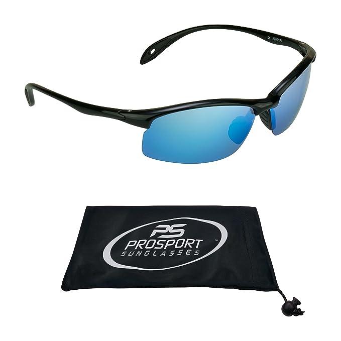 Amazon.com: TR90 marco de espejo polarizado anteojos de sol ...