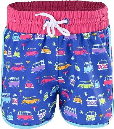Volkswagen Girls Swim Shorts, Quick Dry Beach Board Shorts, Age 6:  Amazon.co.uk: Clothing