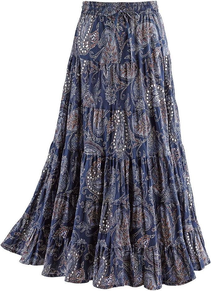 Amazon.com: CATALOG CLASSICS - Falda de lentejuelas y ...