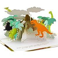 Hallmark Signature Paper Wonder Pop Up Birthday Card (Dinosaurs)