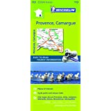Provence, Camargue Michelin ZOOM map 113: Montpellier, Montélimar, Avignon, Marseille (Michelin Zoom Maps)