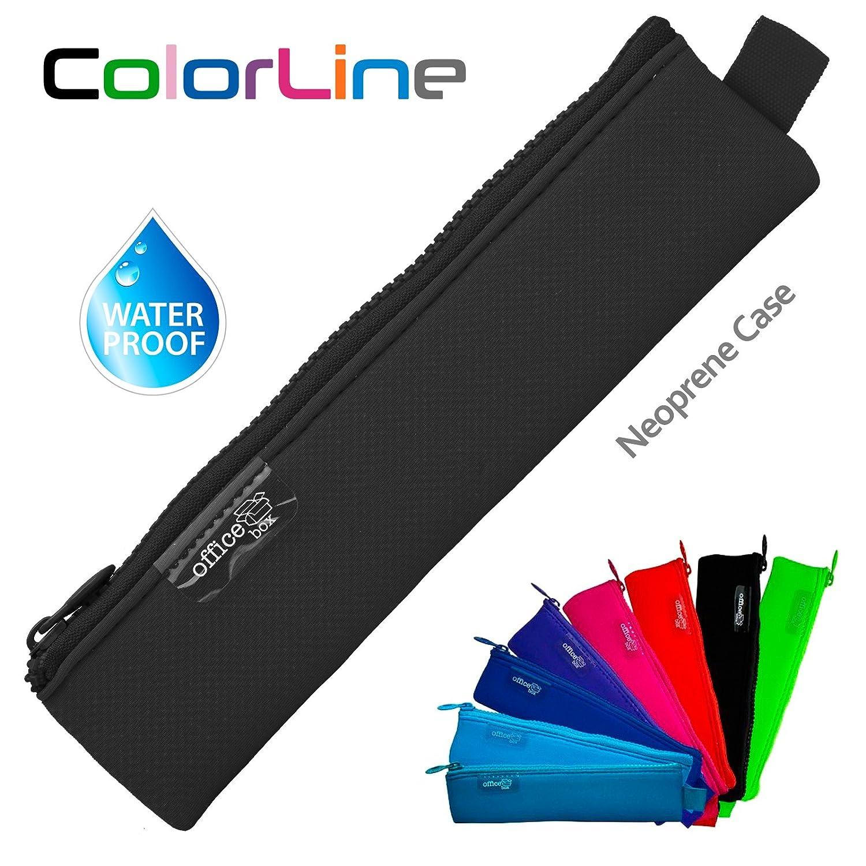 Estuche Multiuso para Viaje Colorline 59480 Material Escolar Color Morado Porta Todo Mini de Neopreno Neceser y Accesorios Medidas 20 x 5 cm