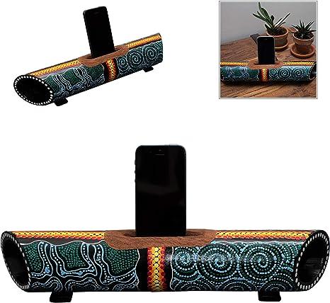 Australian Treasures - Smartphone Altavoz & Soporte Aboriginal ...