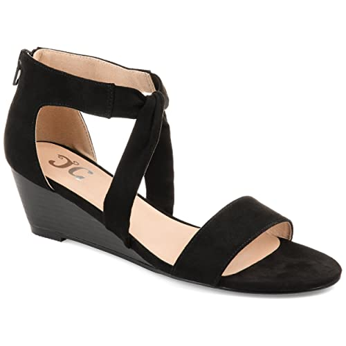 ba5e9e8dc1e Amazon.com | Journee Collection Womens Mattie Wedge | Platforms & Wedges