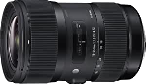 Sigma 18-35mm F1.8 Art DC HSM Lens for Canon, Black (210101)
