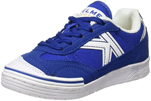 Kelme Trueno Sala Kids, Botas de fútbol Unisex niños, Azul (Royal),