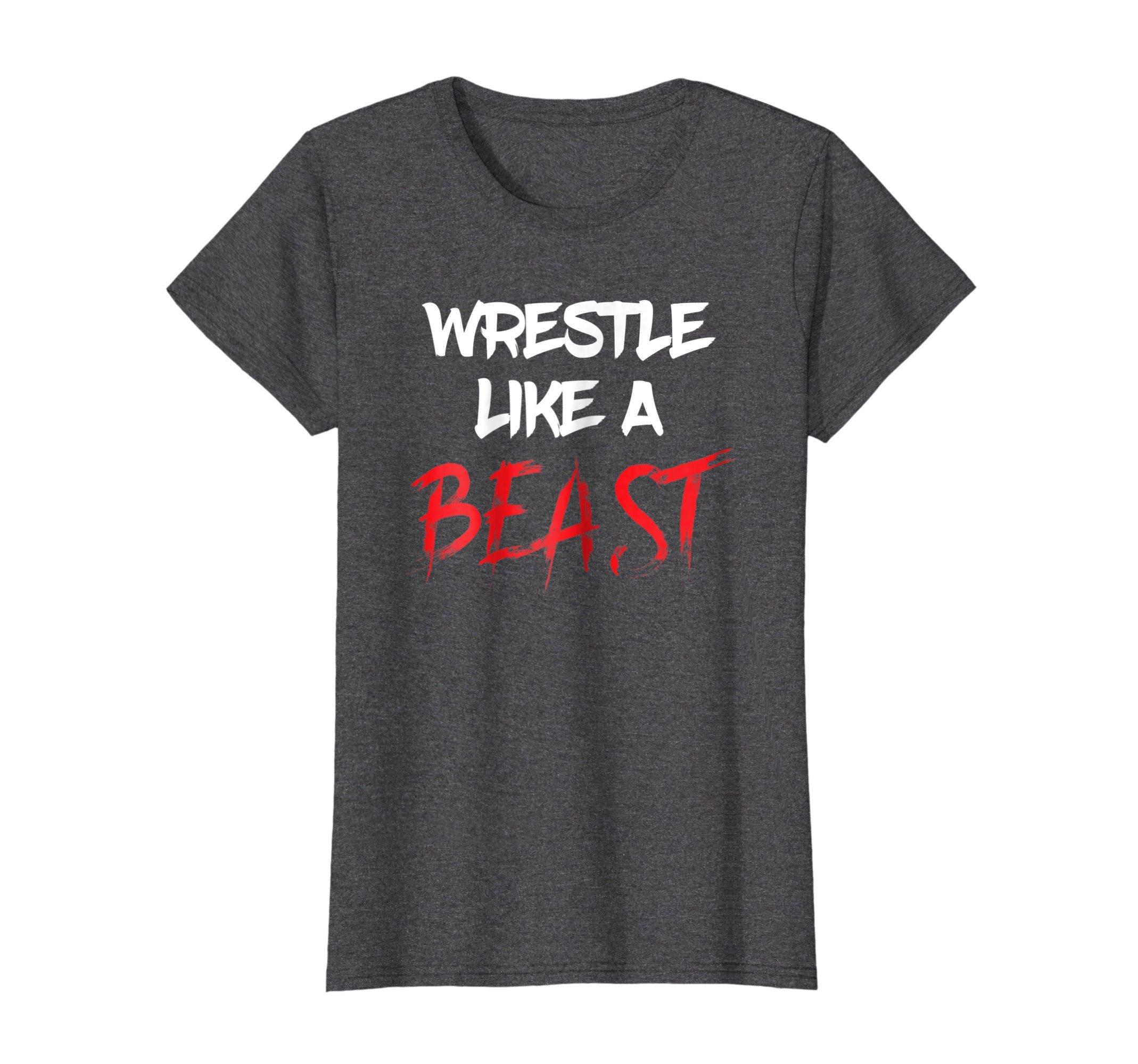 Womens Wrestling Funny Wrestler Season T Shirt - Cool Grappler Gift Small Dark Heather