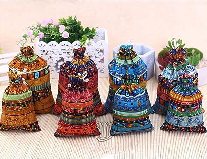 Amazon.com: Corciosy 18 bolsas de arpillera con cordón ...