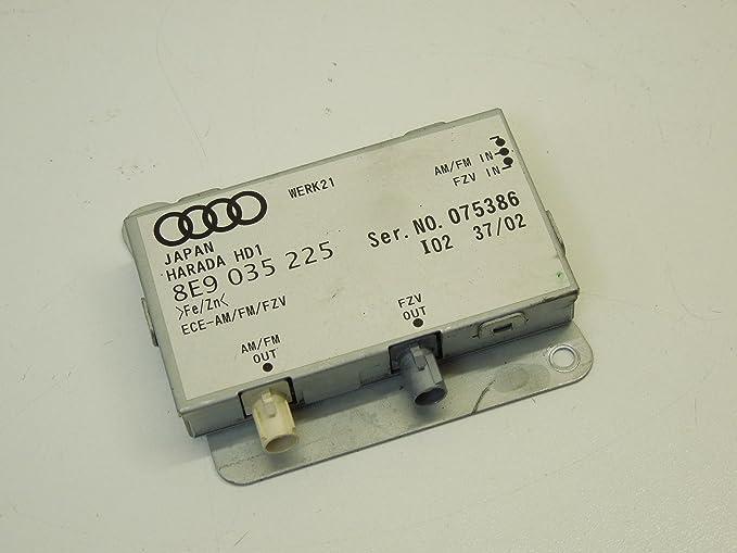 Amplificador de antena de Audi A4 B6 Avant: Amazon.es: Coche ...