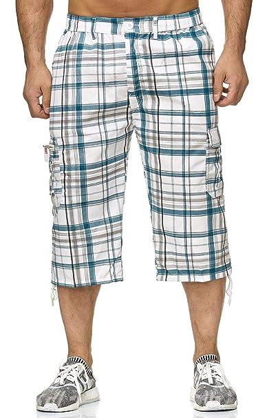 personalizzate prezzo di fabbrica servizio duraturo ArizonaShopping - Shorts Pantaloncini Uomo Bermuda 3/4 Casual Pantaloni a  Scacchi H2263