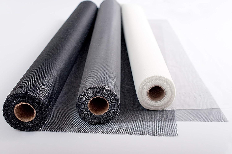 UV-best/ändig /& rei/ßfest Farbe in grau 1,40 x 2,50 m, grau vielseitig einsetzbar hochwertig /& kein Ausfransen beim Zuschneiden TESO Insektenschutzgaze Fliegengitter Fiberglasgewebe auf Zuschnitt