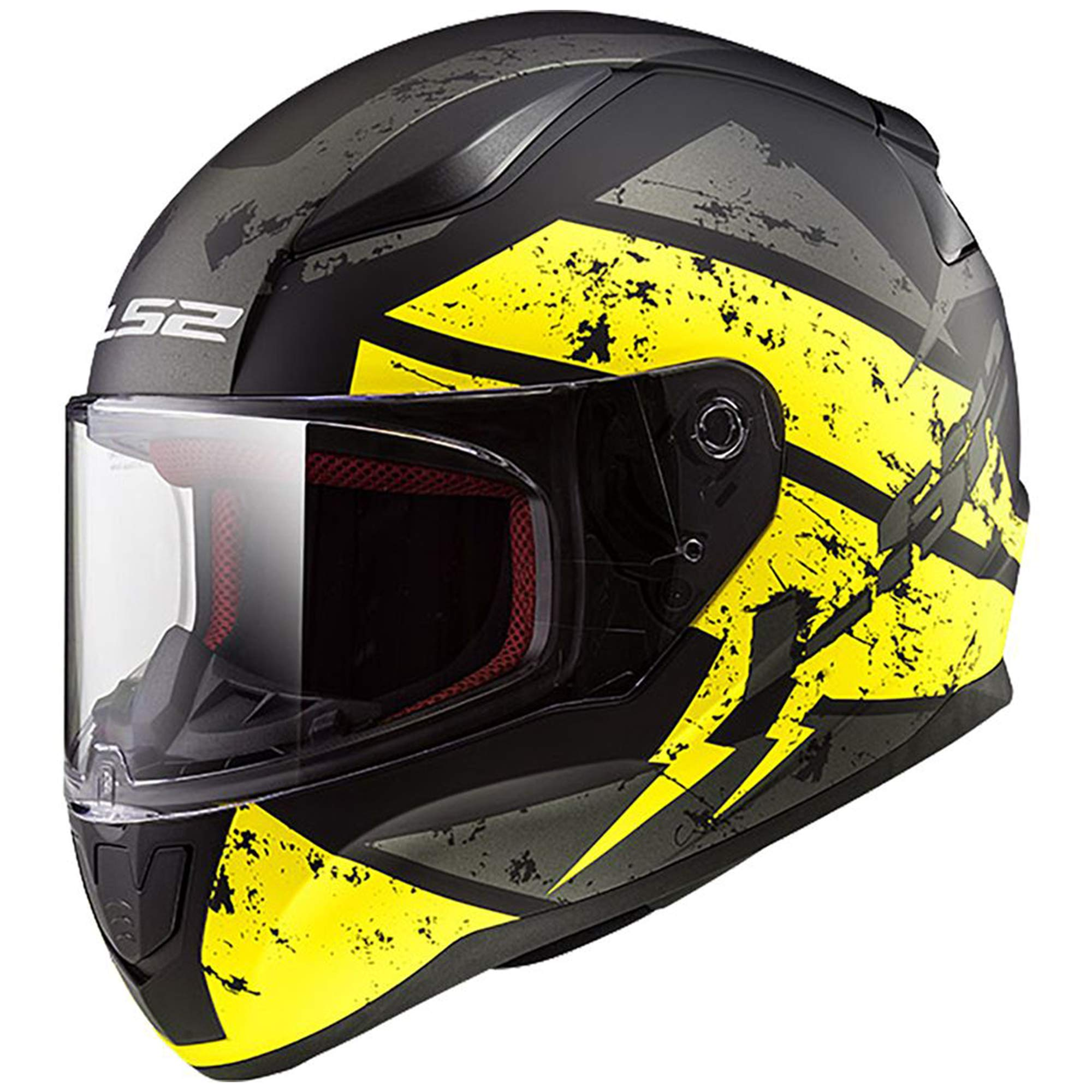 HJC 582-614 IS-17 Full-Face Motorcycle Helmet Matte Black, Large