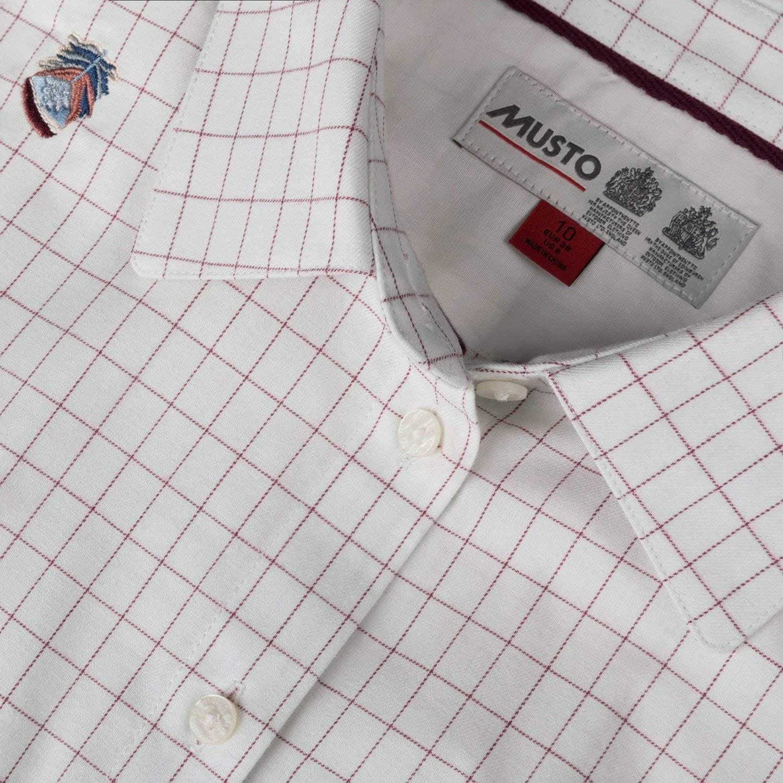 Musto - Camisas - para Mujer Partridge Check Berry 8: Amazon.es: Ropa y accesorios