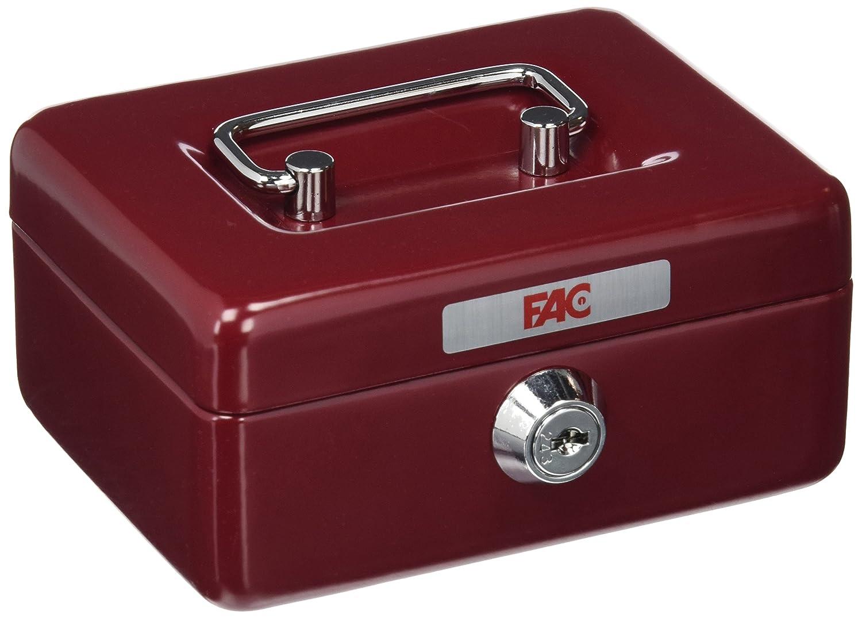 FAC 17001 Caja de caudales, Rojo FAC Seguridad