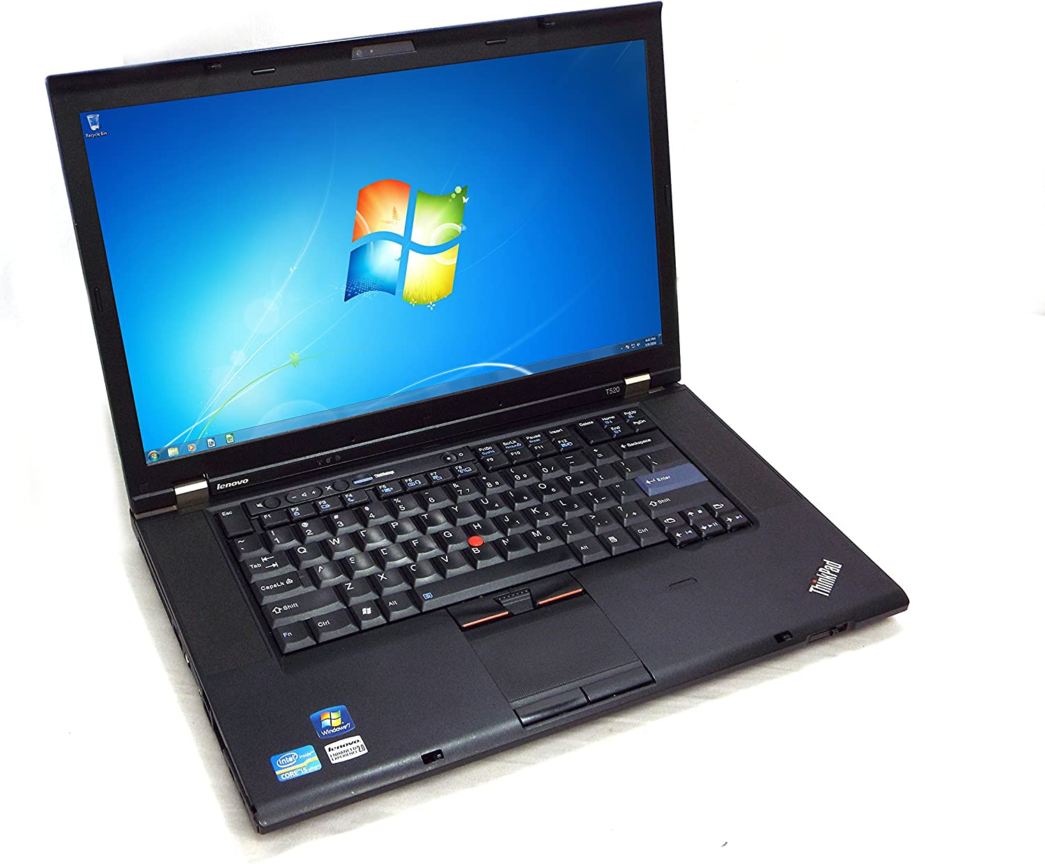 "Lenovo ThinkPad T520 15.6"" Laptop – Intel Core i5-2520M 2.50GHz, 4GB DDR3, 320GB HDD"