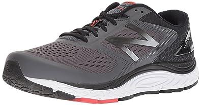 New Balance Men's 840v4 Running Shoe, Dark Grey, 9.5 D US