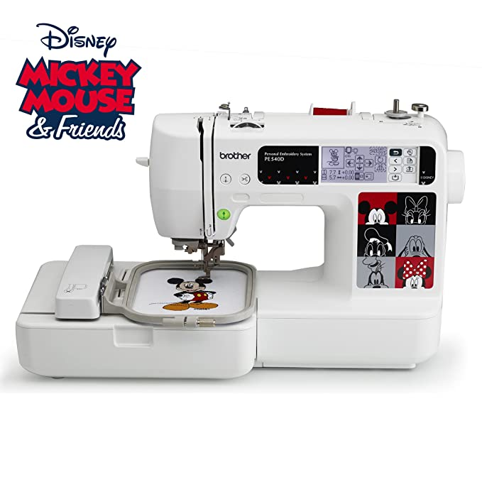 Amazon Brother PE4000D 400x400 Embroidery Machine With 40 Builtin New Brother 550 Sewing Machine