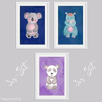 Kunstdruck Kinderzimmer für Baby Jungen Kinderbilder Kinderzimmer ...