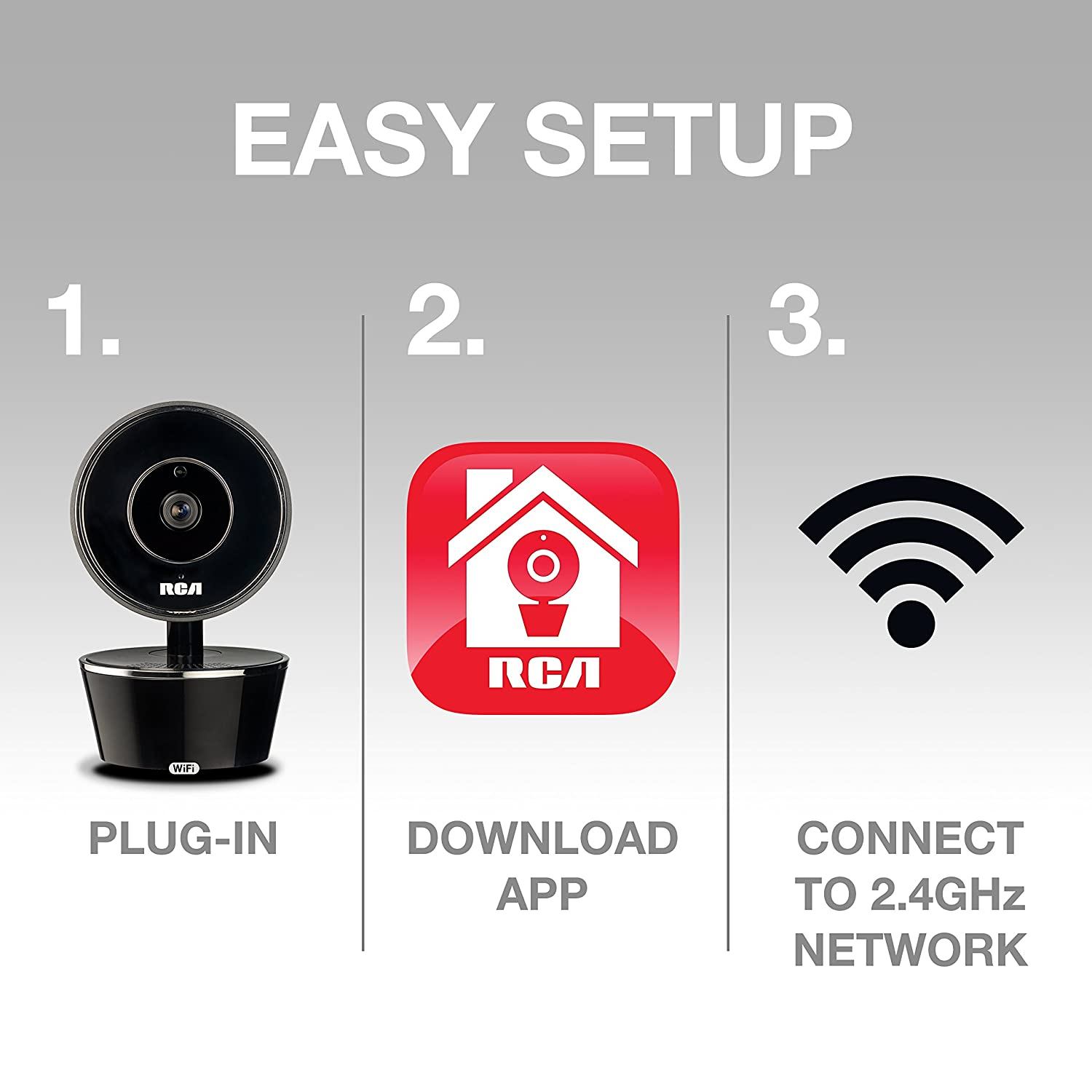 RCA WiFi Video Camera Home Security System