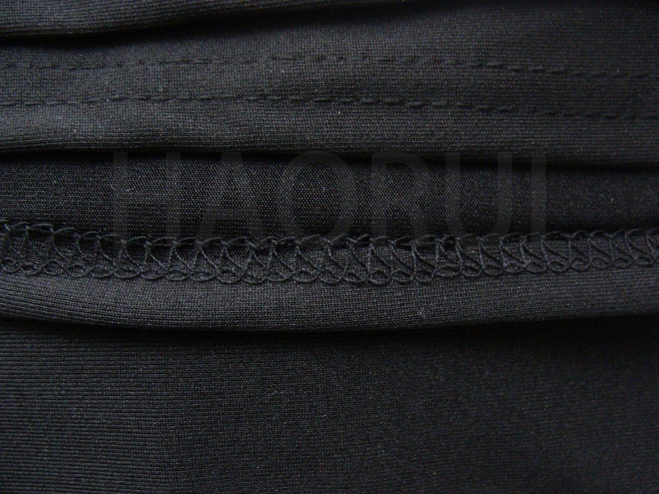 Haorui Rectangular Spandex Table Cover (6 ft. Black) by Haorui (Image #5)