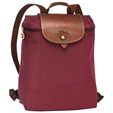Longchamp Women s Backpack Handbag burgundy  Amazon.co.uk  Shoes   Bags dd349da3e7c45