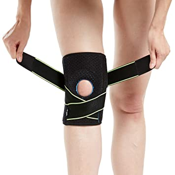 d8610846fd Image Unavailable. Image not available for. Color: Knee Brace with Side  Stabilizers & Patella Gel Pads for Knee Support