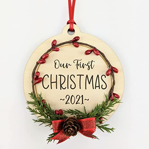 Our First Christmas 2021 Ornament Rt Hhfnyzpa9dm
