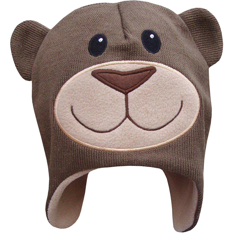 TeddyT's Boy's Peru Style Novelty Animals Thermal Winter Hat