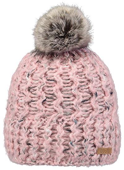 24f29e8360b0 BARTS - Bonnet à Pompon Maille torsadée Rose Enfant Fille 3 au 10 Ans   Amazon.fr  Vêtements et accessoires