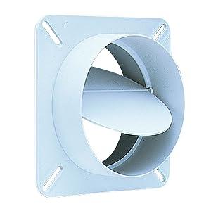 "Deflecto Plastic Draft Blocker, 4"" Diameter, White, (BD04)"