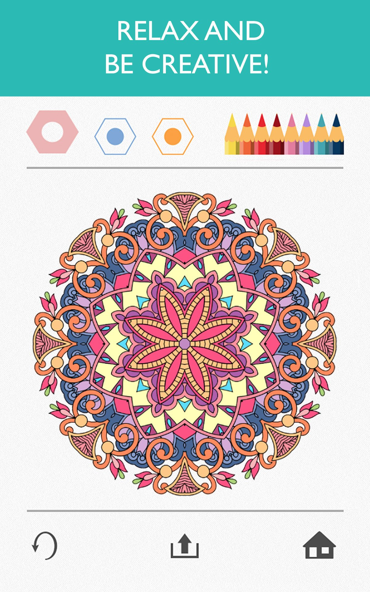 Colorfy plus coloring book - Amazon Com Colorfy Coloring Book For Adults Best Free App Appstore For Android
