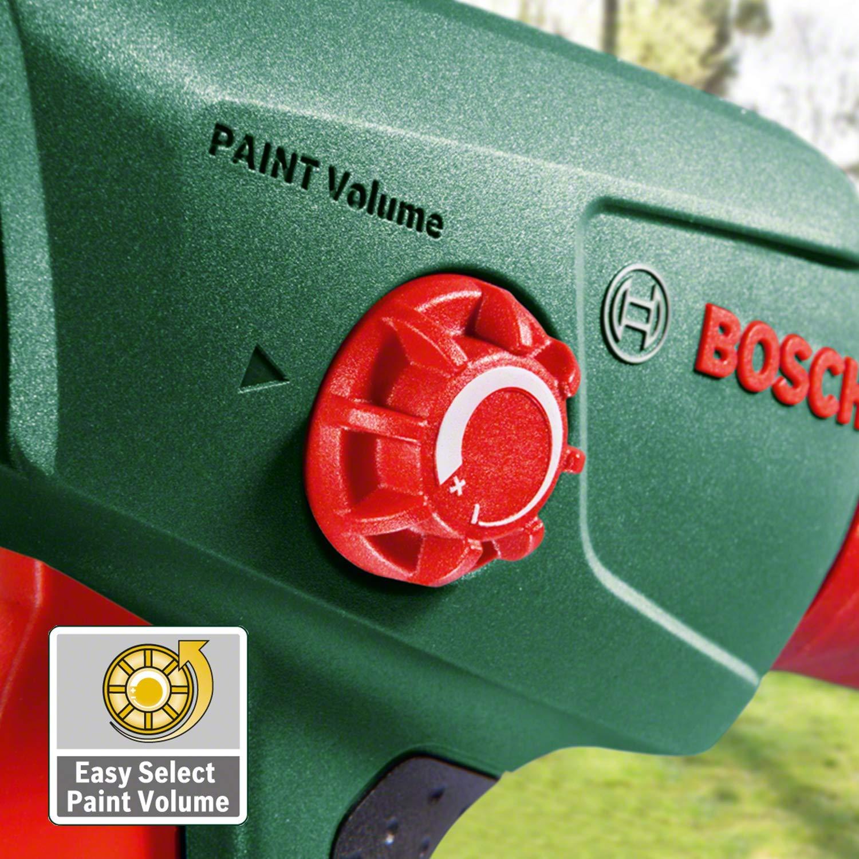410 W 240 V Bosch Home and Garden 0.603.207.000 Sistema de pulverizaci/ón de pintura Verde