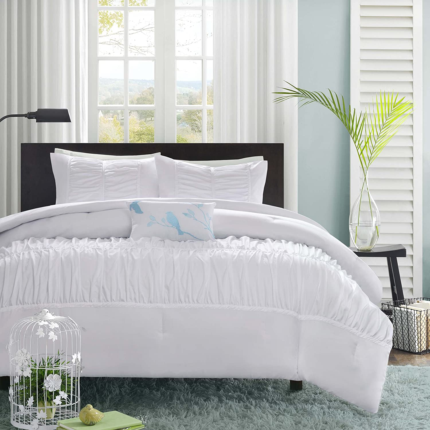 white comforter lavender cheap grey dark and decoration size full queen of sets set