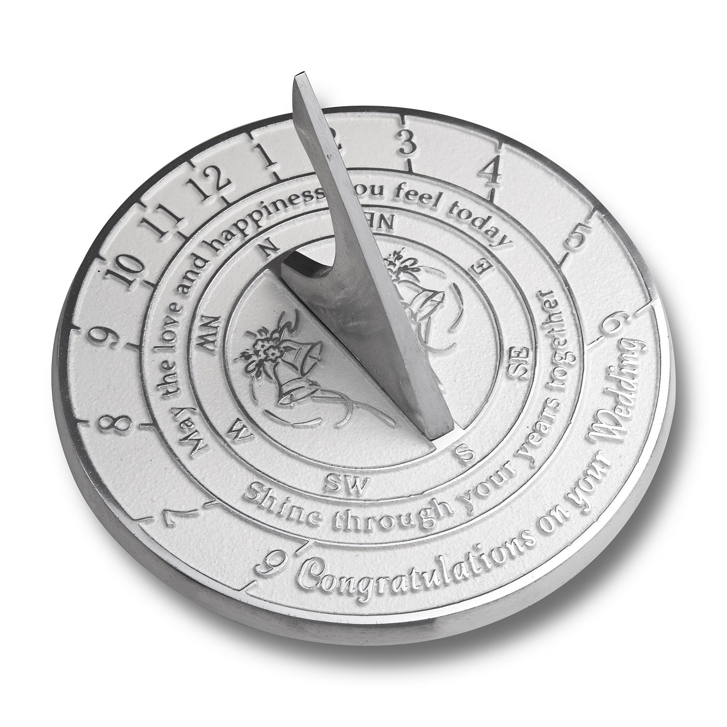 Unique Wedding Gift Idea For A Special Couple. A Years Together Sundial Makes A Great Marriage Present For The Bride And Grooms Garden Or Home Décor Ornament. By The Metal Foundry UK