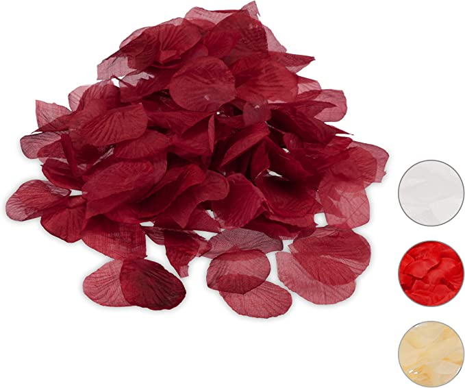 Rose Talking Tables- Perfect for Those Romantic Events Party Dried Petals Rouge