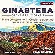 Ginastera: Orchestral Works Vol.3 [Xiayin Wang; BBC Philarmonic Orchestra; Juanjo Mena] [Chandos: CHAN 10949]