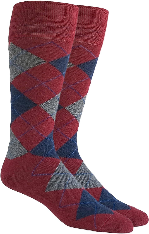 Costume socks with grape motif blue