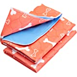 The Proper Pet Washable & Reusable Pee Pads for Dogs - Puppy Training (2-Pack)
