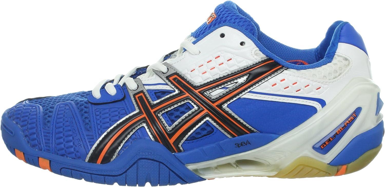 Amazon.com: ASICS Men's Gel-blast 5 Squash Shoe,Royal Blue/Black ...