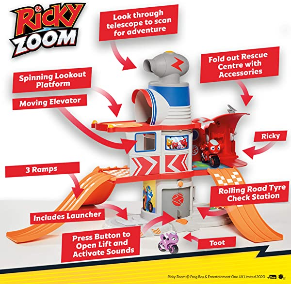 Ricky Zoom Ricky's House Adventure Playset for kids