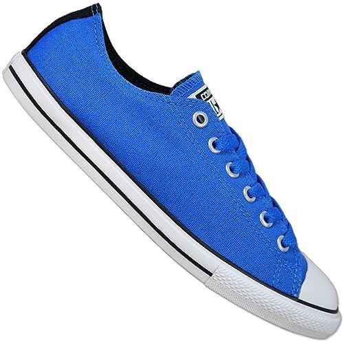 CONVERSE CT East coater Star Chuck Taylor Ox Scarpe Blu Sneaker donna 37 38