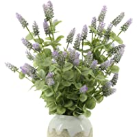 YNYLCHMX Long Floral Stems Artificial Lavender Greenery Branches for Wedding Bouquets Centerpieces, Floral Arrangements…