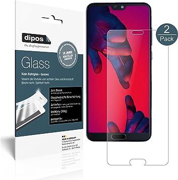 dipos I 2X Protector de Pantalla Mate Compatible con Huawei P20 ...