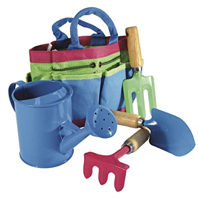 House of Marbles Children's Garden Tool Set: Toys & Games