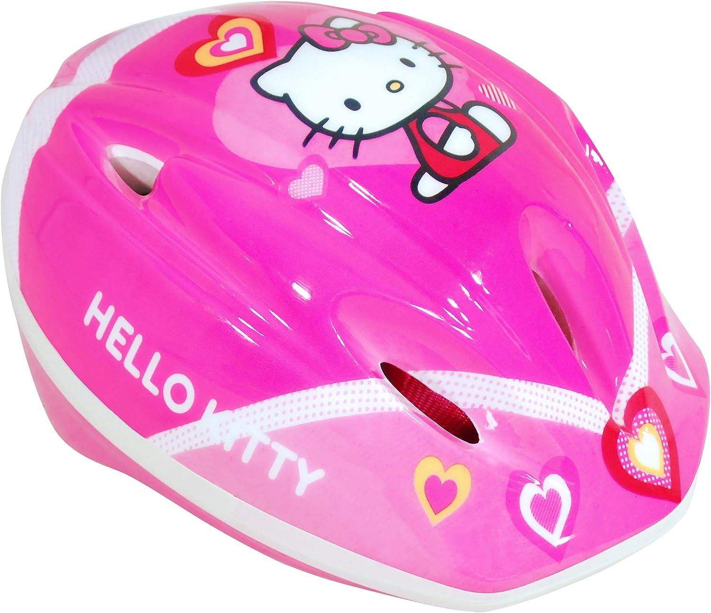 Hello Kitty - Casco de Bicicleta (Saica Toys 9346): Amazon.es ...