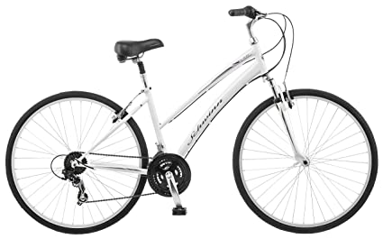 9c9235379 Image Unavailable. Image not available for. Color: Schwinn Network 1.0 700c  Women's 16 Hybrid Bike ...